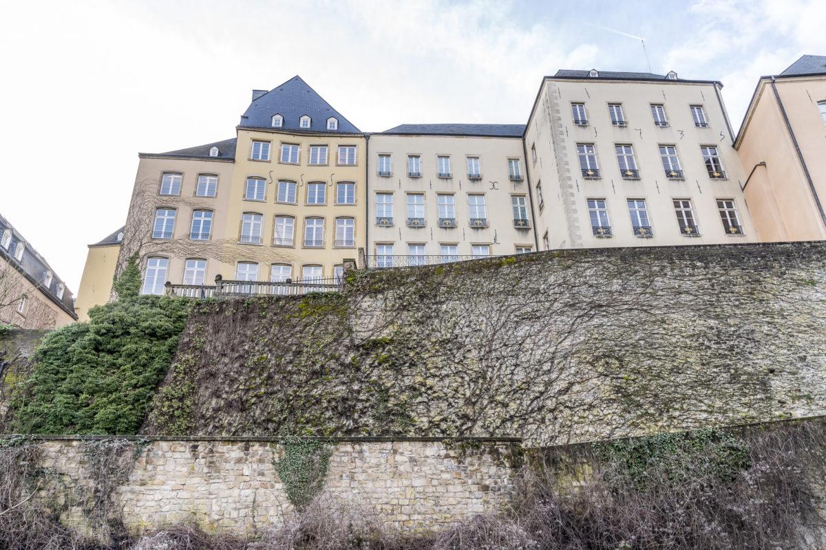 Luxemburg Festungsmauern