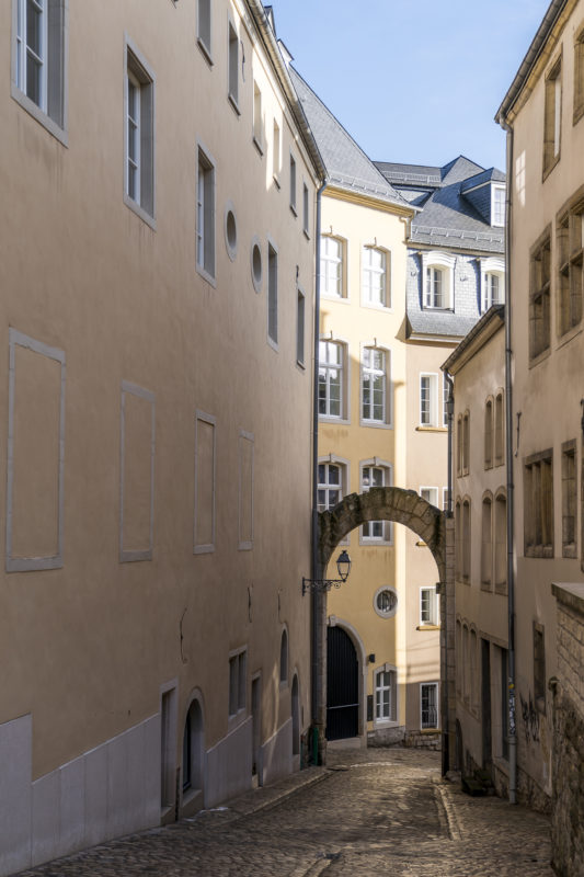 Luxemburg Altstadtgassen