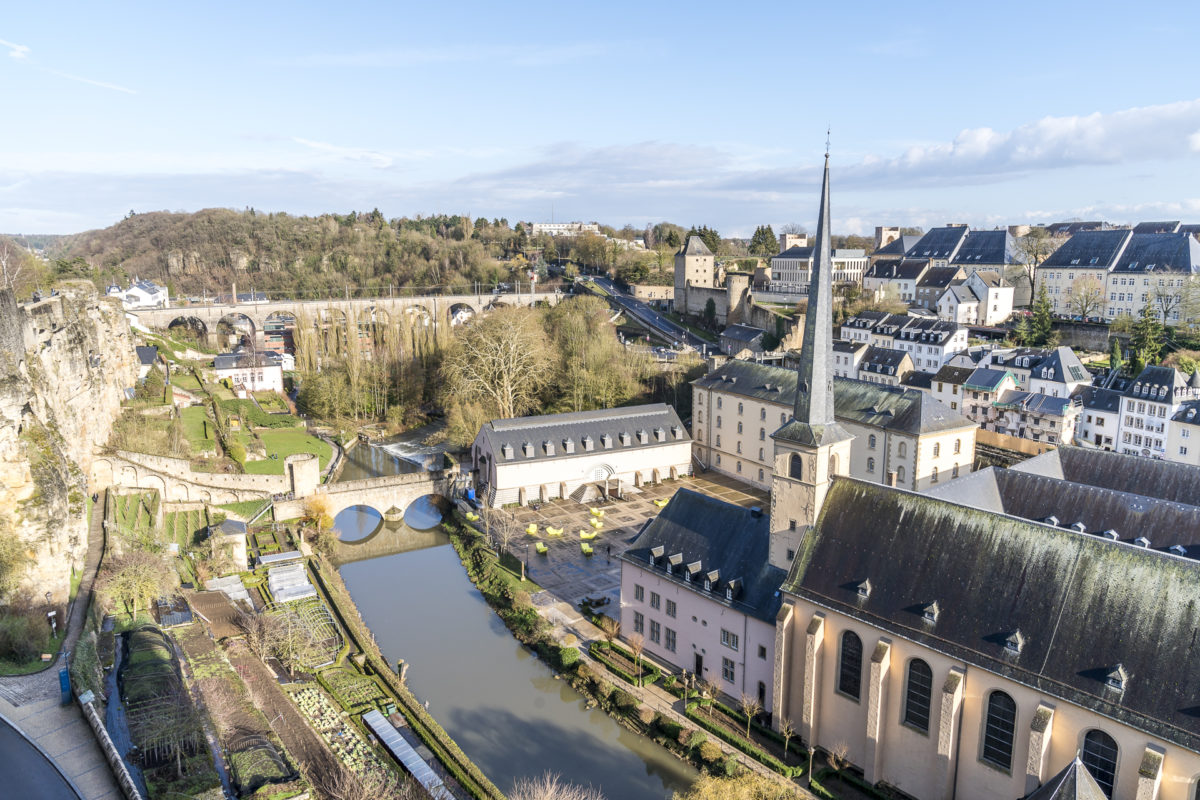 Luxemburg Alzette Altstadt