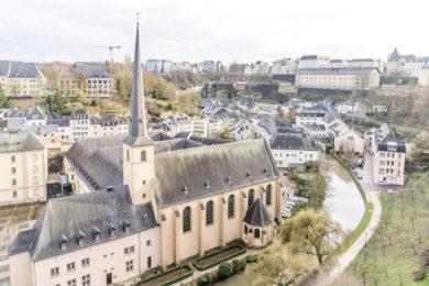 Luxemburg Kirche