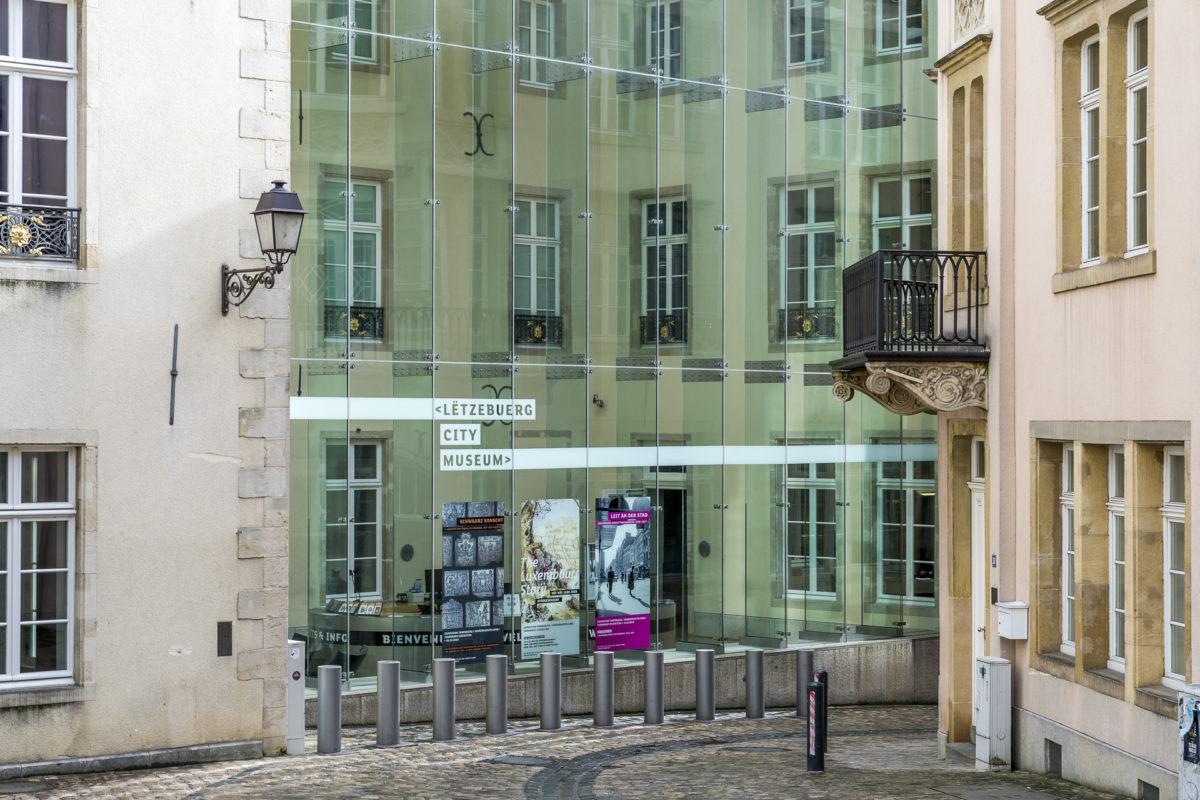 Luxemburg Stadtmuseum Fassade