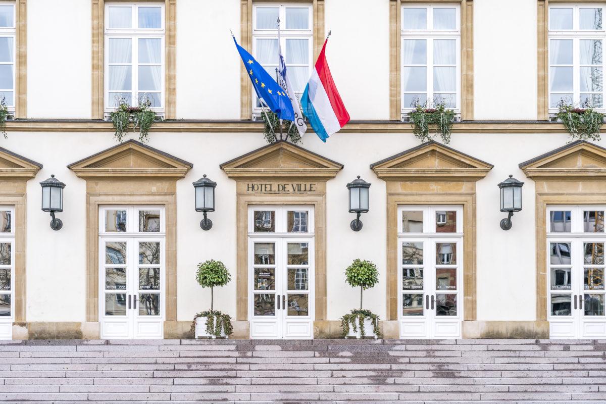 Luxemburg hotel de ville