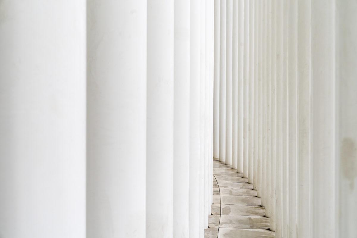 Säulen Philharmonie Luxemburg