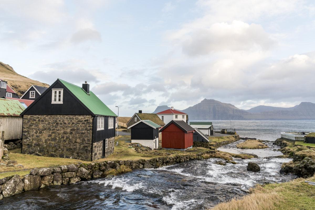 Färöer-Inseln Winter