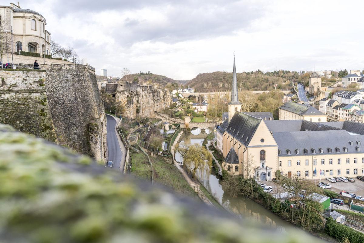 Luxemburg Ausblick