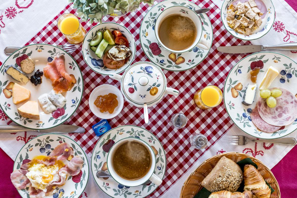 Angerer Alm Frühstück