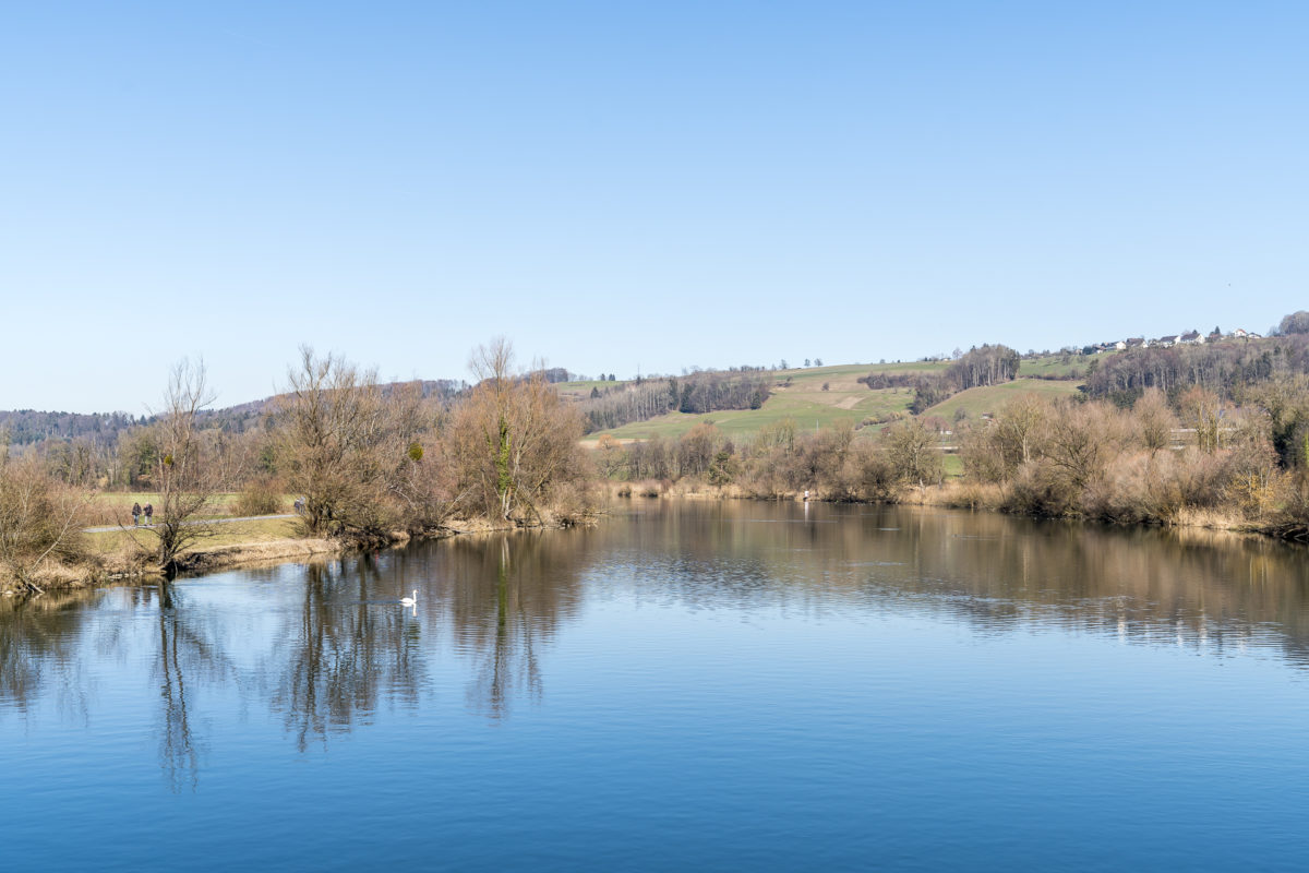 Ausflugsziel im Aargau Flachsee