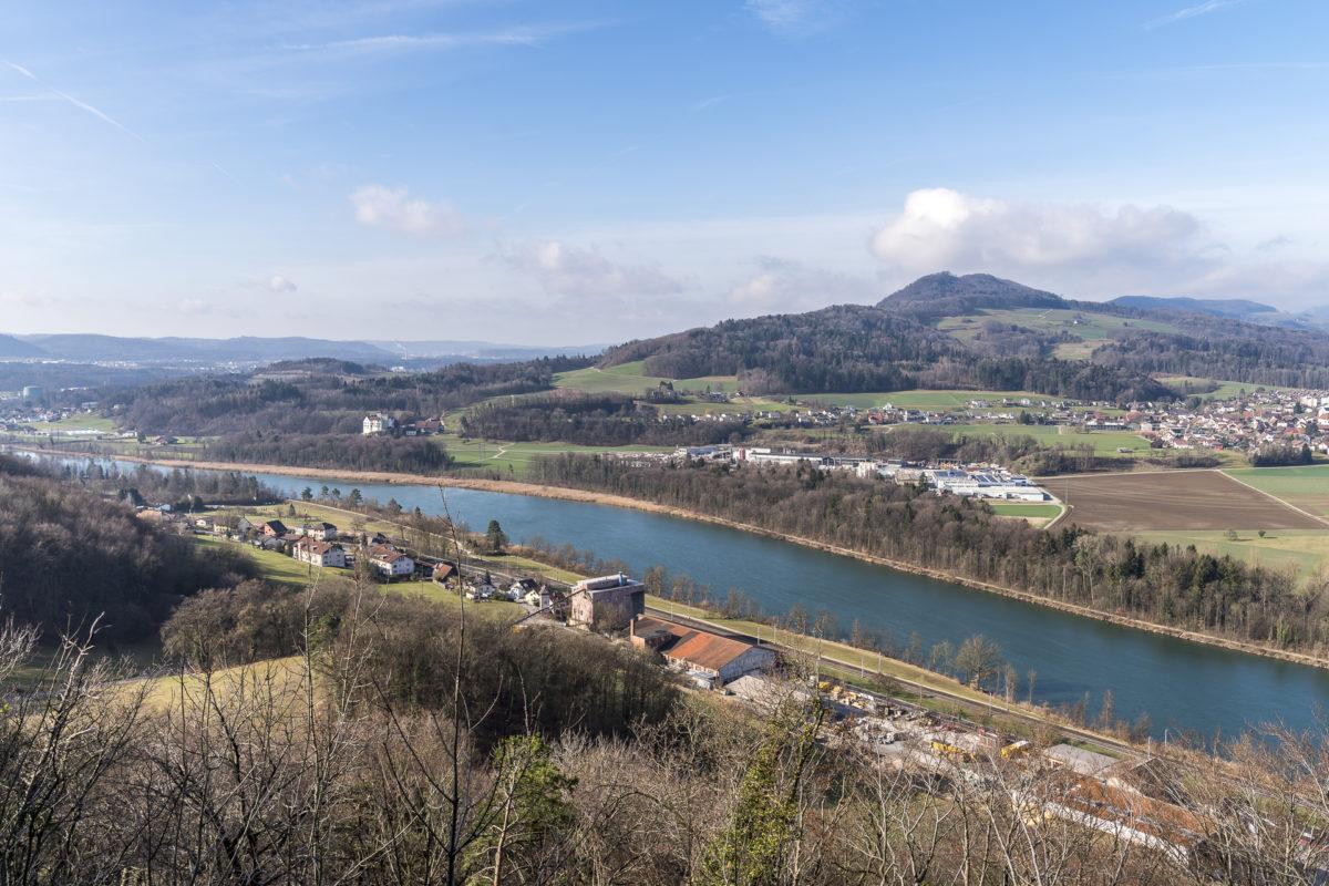 Aussicht Habsburger Weg