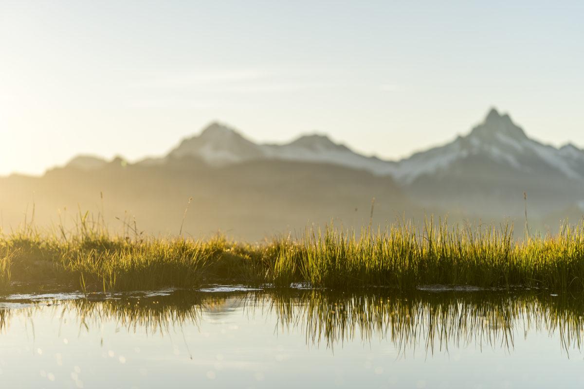 Berner Oberland Morgenstimmung