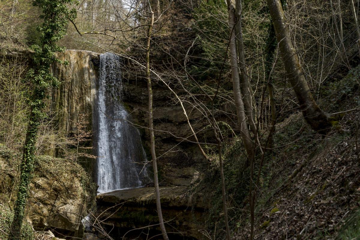 Erlenbacher Tobel Wasserfall