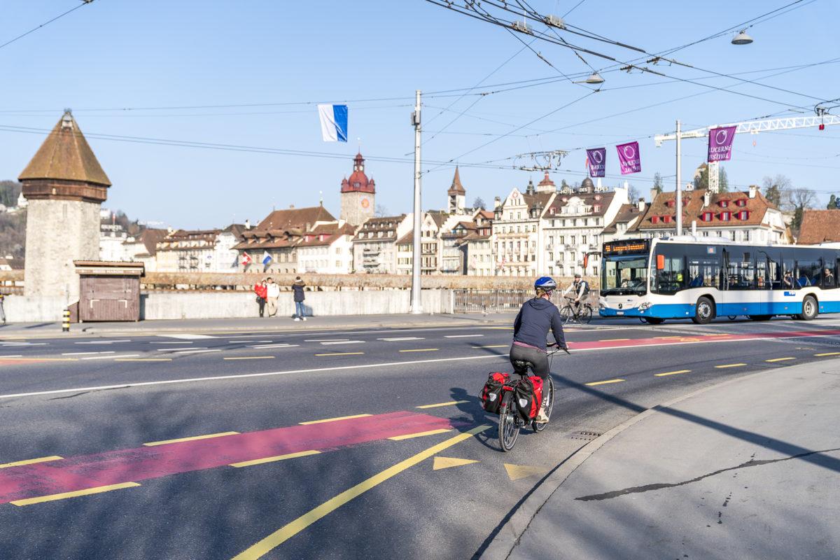 Luzern Velofahren