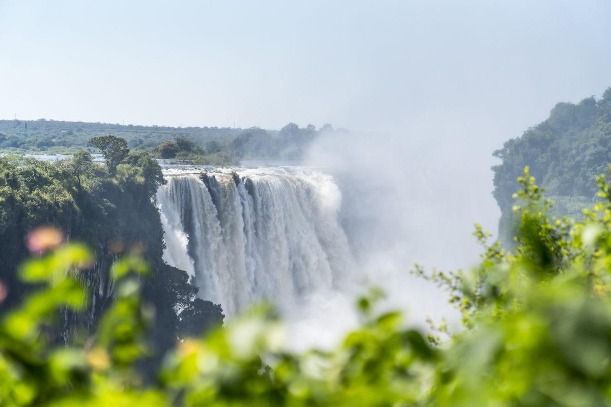 Abstecher Victoria Falls Simbabwe