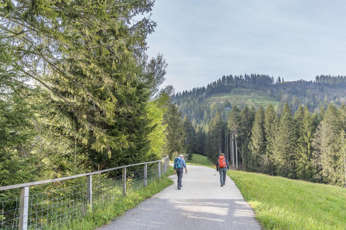 Heiligkreuz Aufstieg First
