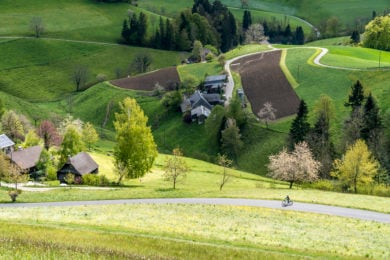 Ausflugstipp Emmentaler Käseroute: schöne E-Bike-Tour durchs Emmental