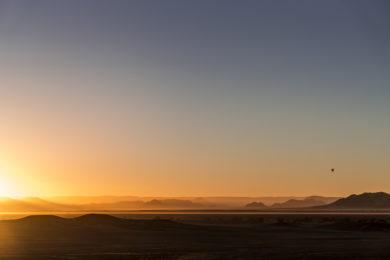 Namib Desert Sonnenaufgang