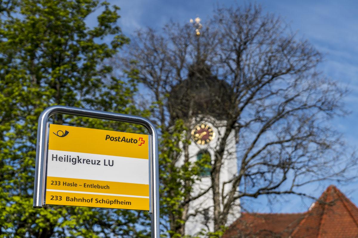 Postautostation Heiligkreuz