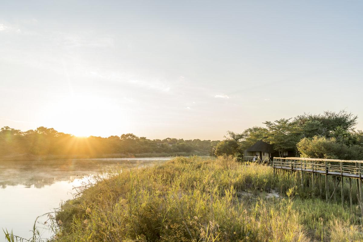 Okavango River in Rundu