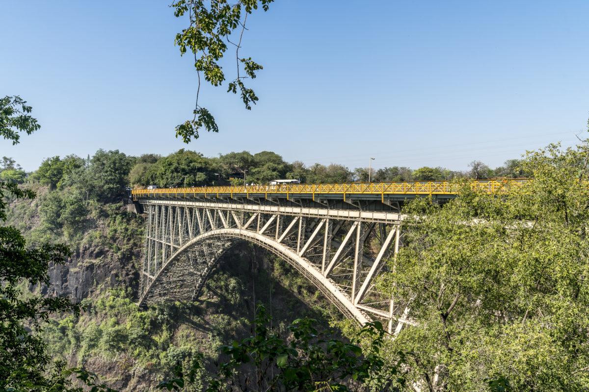 Victoria Falls Sambesi Brücke