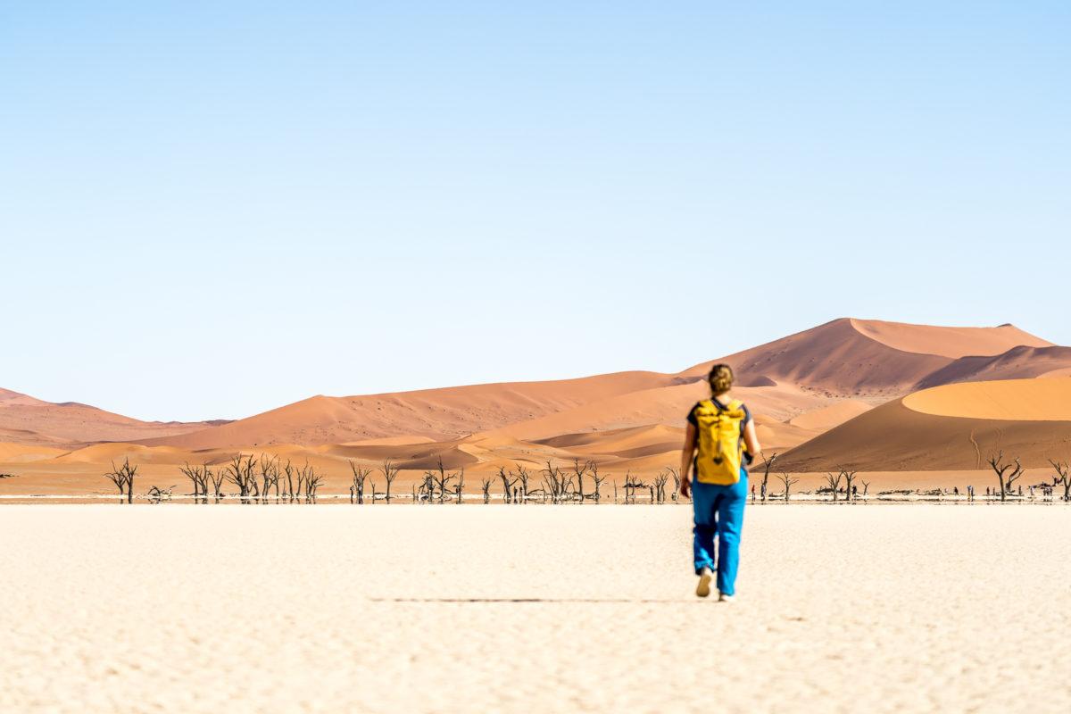 Wandern Namib Desert