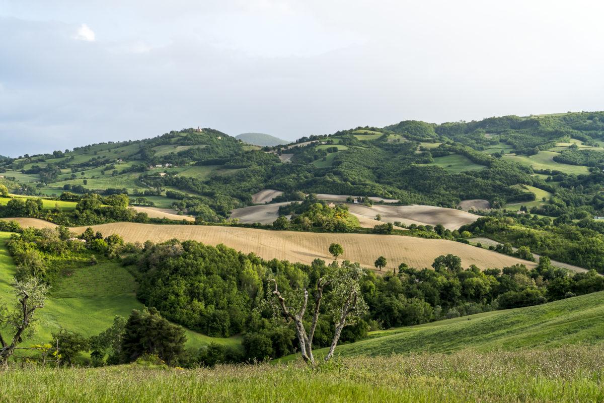 Marken Landschaft Italien