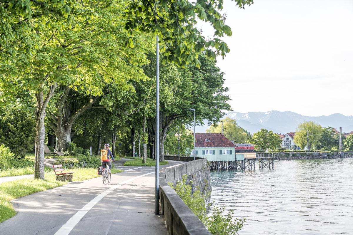 Promenade Lindau Radweg