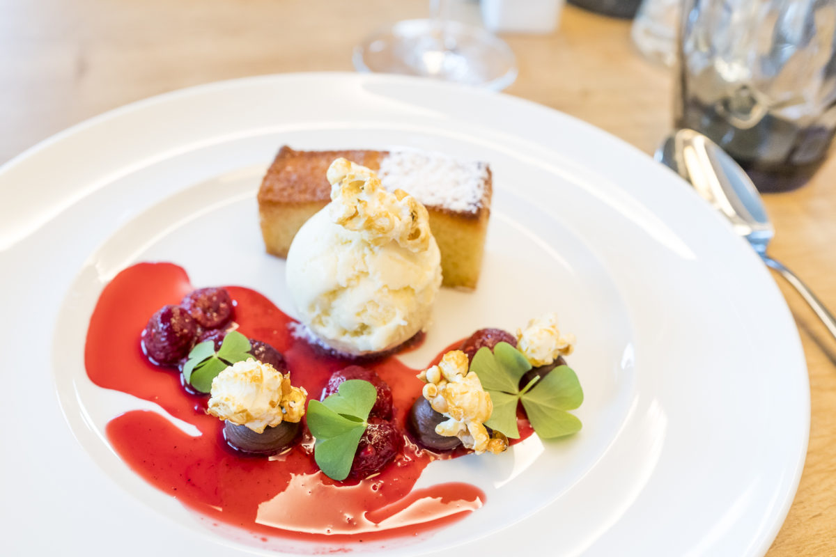 Abendessen Panoramahotel Oberjoch Dessert