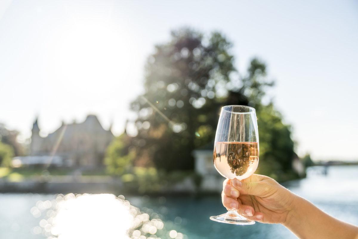 Abendschifffahrt Thunersee Wein
