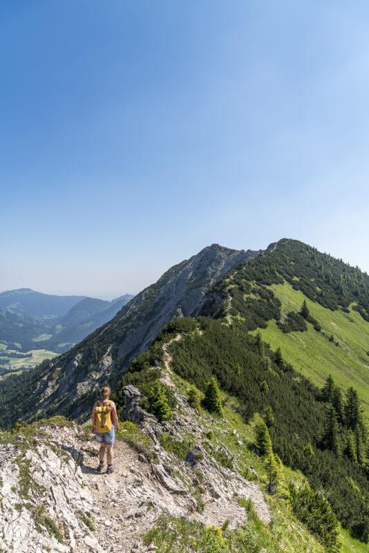 Aufstieg Iseler Oberjoch
