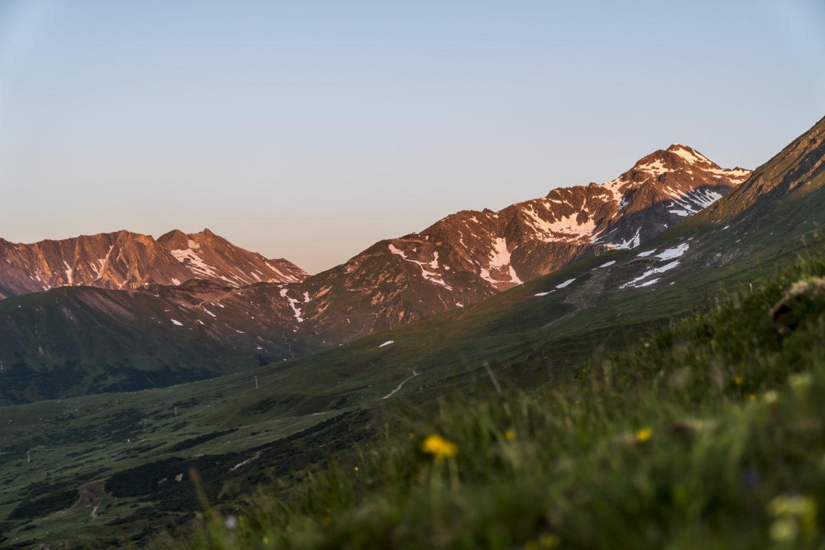 Aufstieg Oberer Sattelkopf