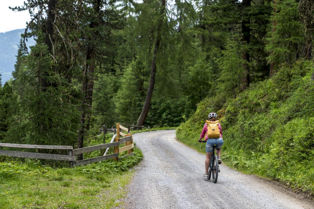 Biketour Schöngampalm Fiss