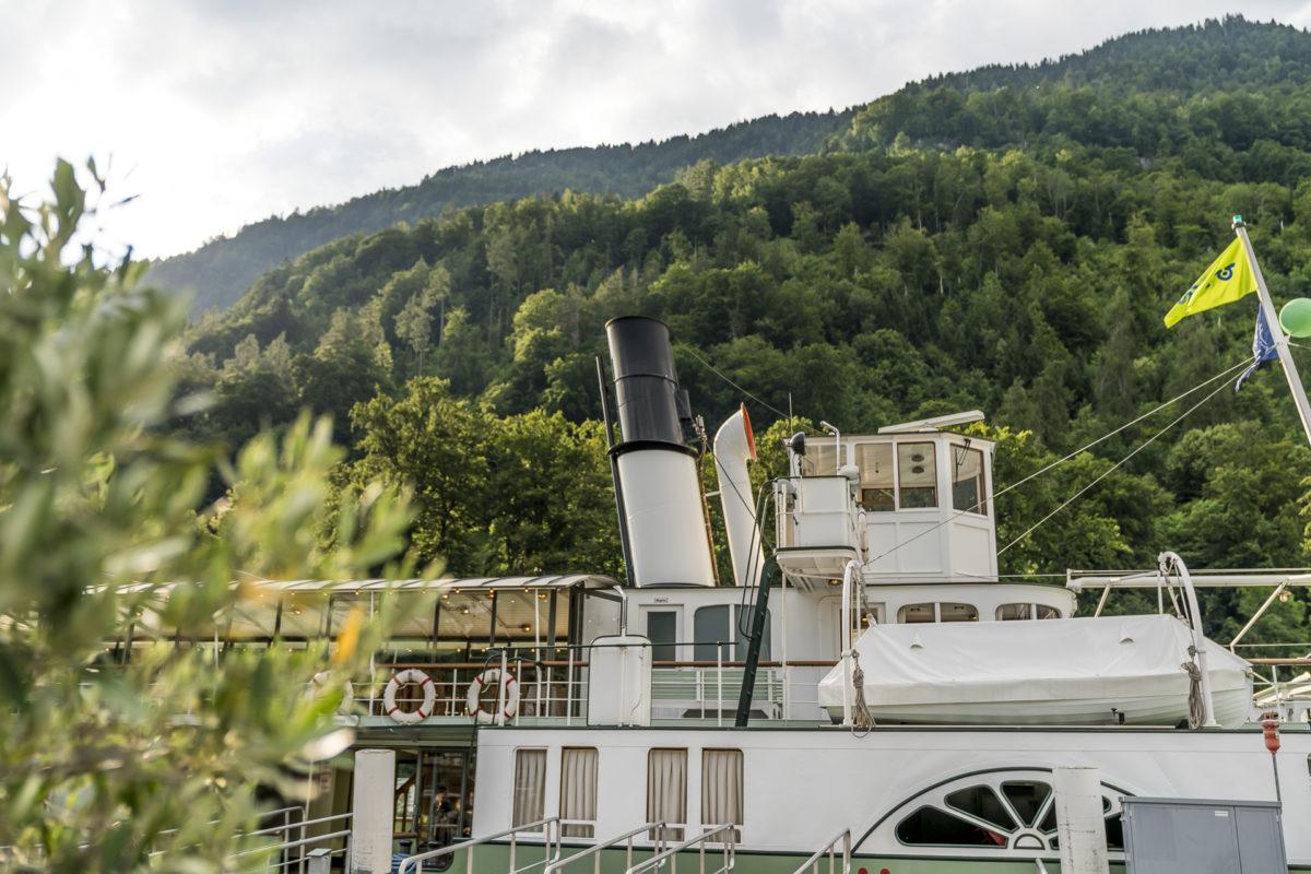 Dampfschiff Lötschberg Brienzersee