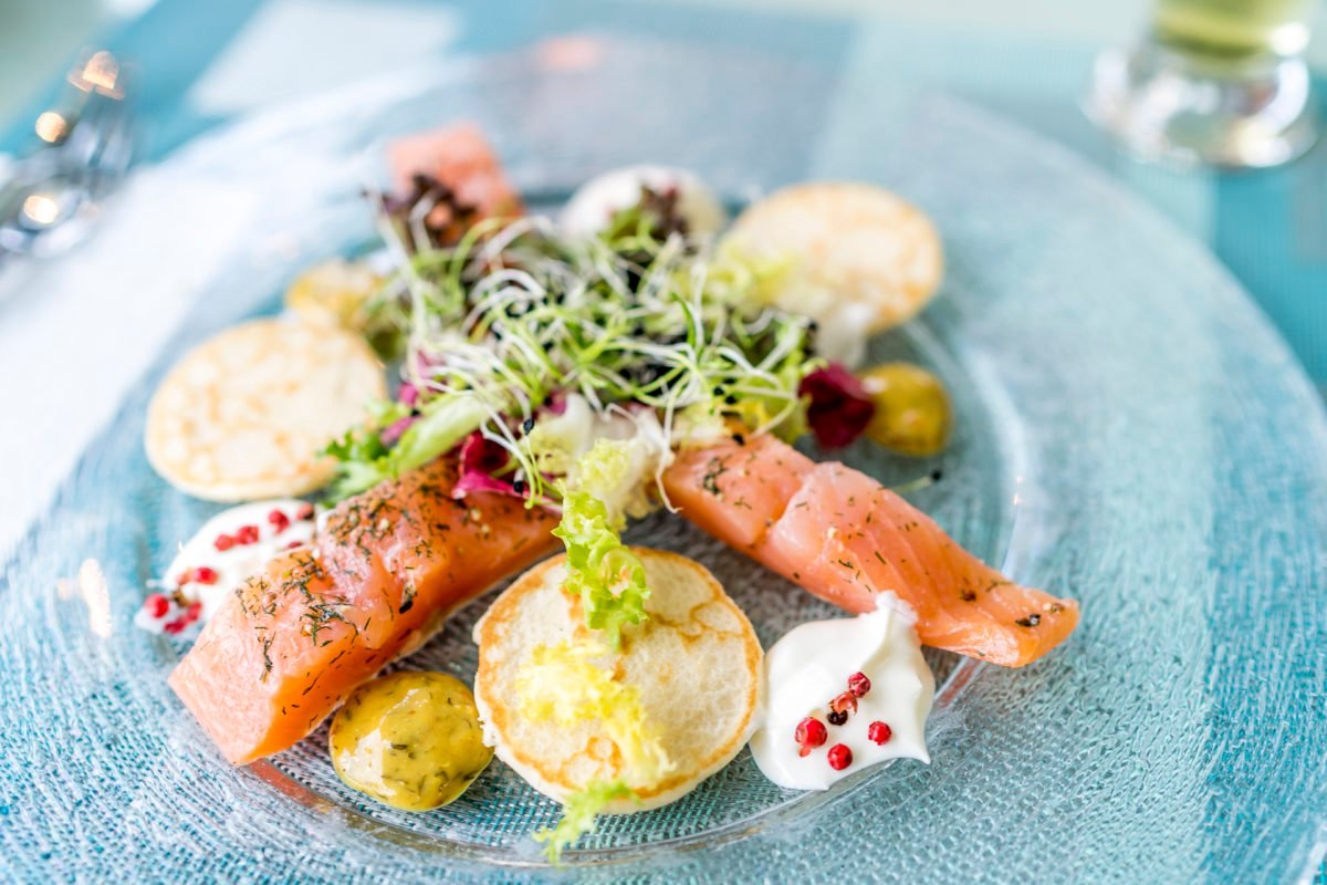 Fischmenu Thunersee Catering