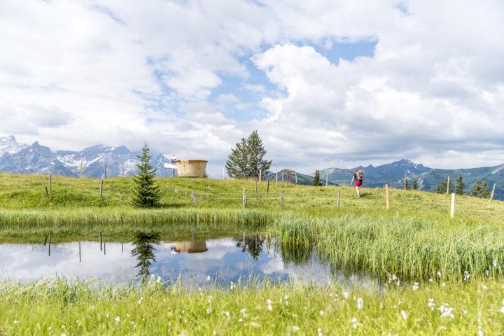 Wanderung Höhi Wispile – Lauenensee: mit dem Fonduerucksack über Stock & Stein