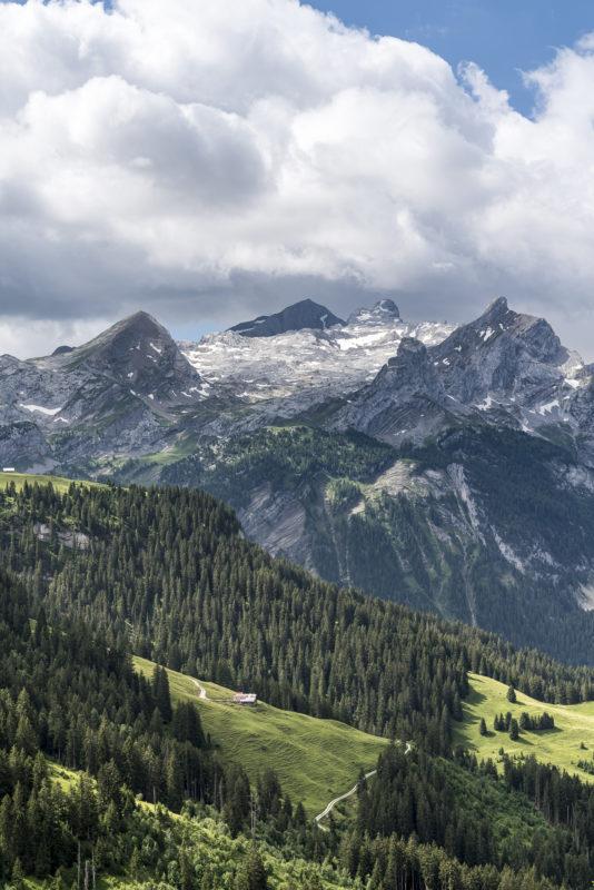 Gsteig Gstaad Bergwelt