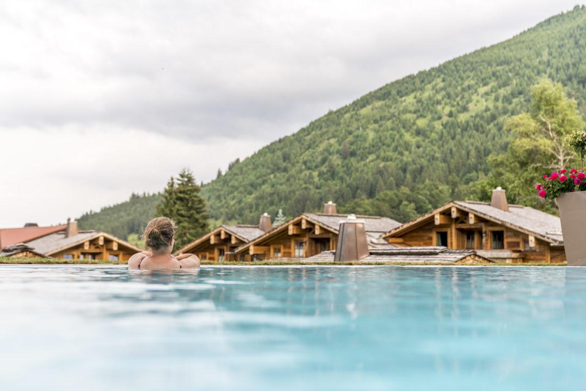 Infinity Pool Panoramahotel Oberjoch