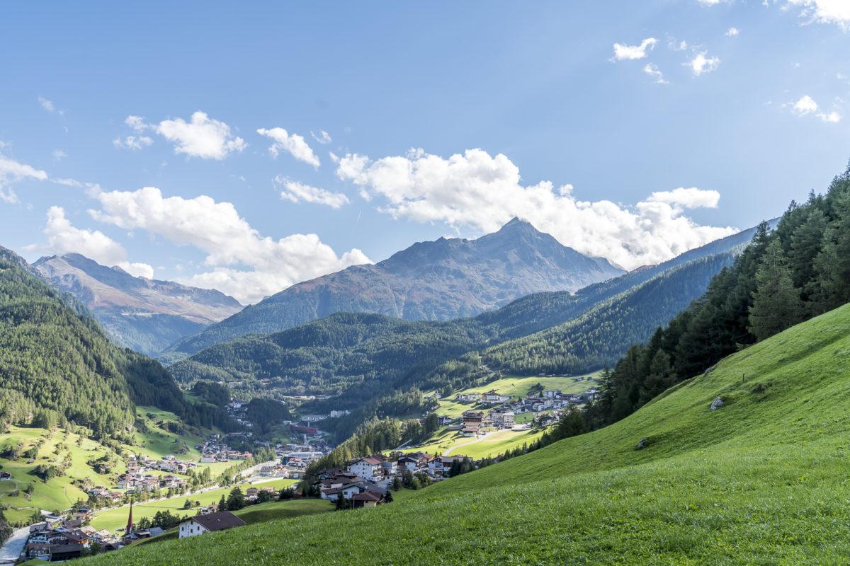 Sölden Almwanderung Tirol