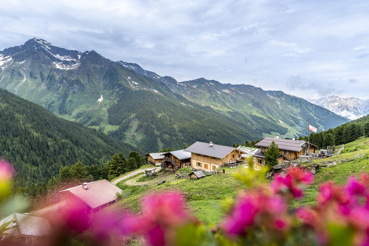 Tirol Aussermelang Alm
