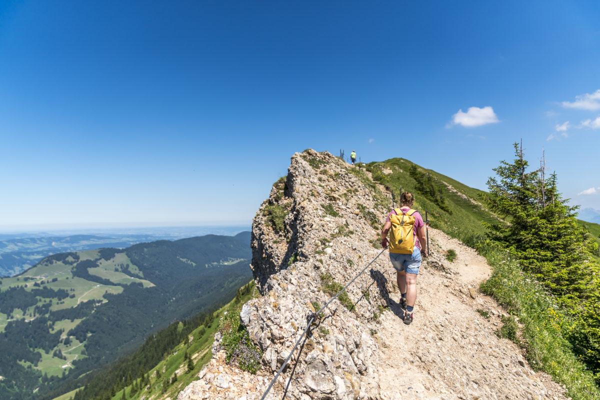 Wanderung Hochgrat Allgäu