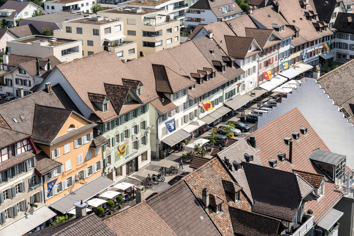 Willisau Stadt Vogelblick
