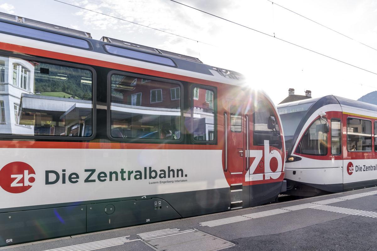 Zentralbahn Bahnhof Sarnen