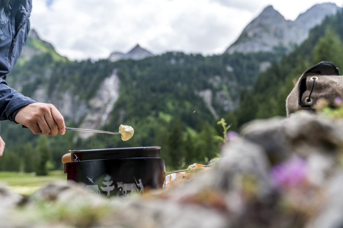 Gstaad Fondue Outdoor