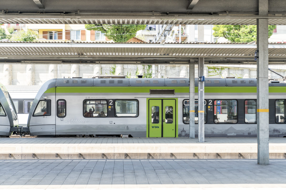 Bahnhof Spiez