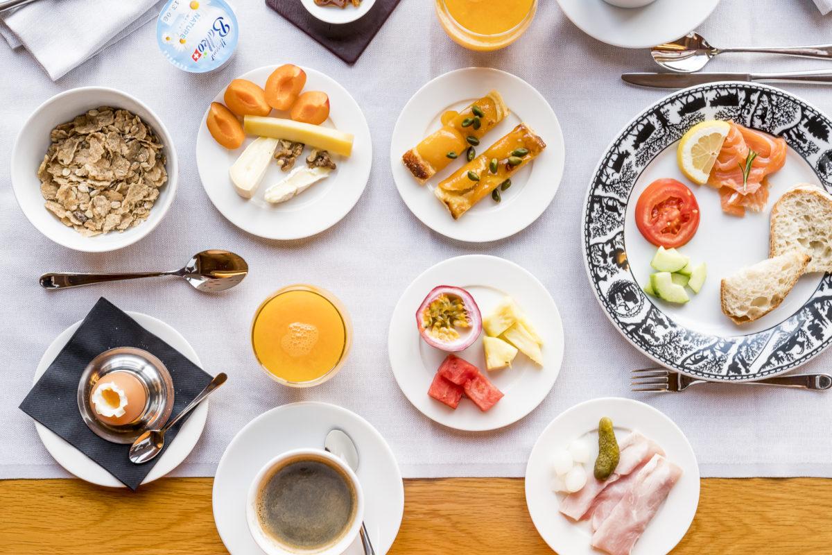 Chalet Royalp Frühstück