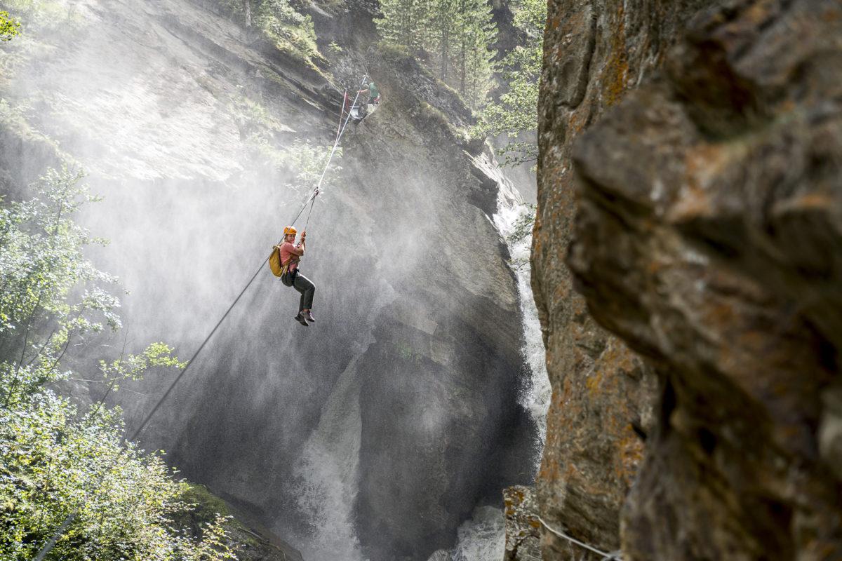 Ich trau mich! Klettersteig Abenteuer Gorge Alpine