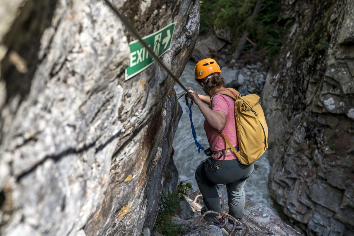 Gorge Alpine Klettersteig