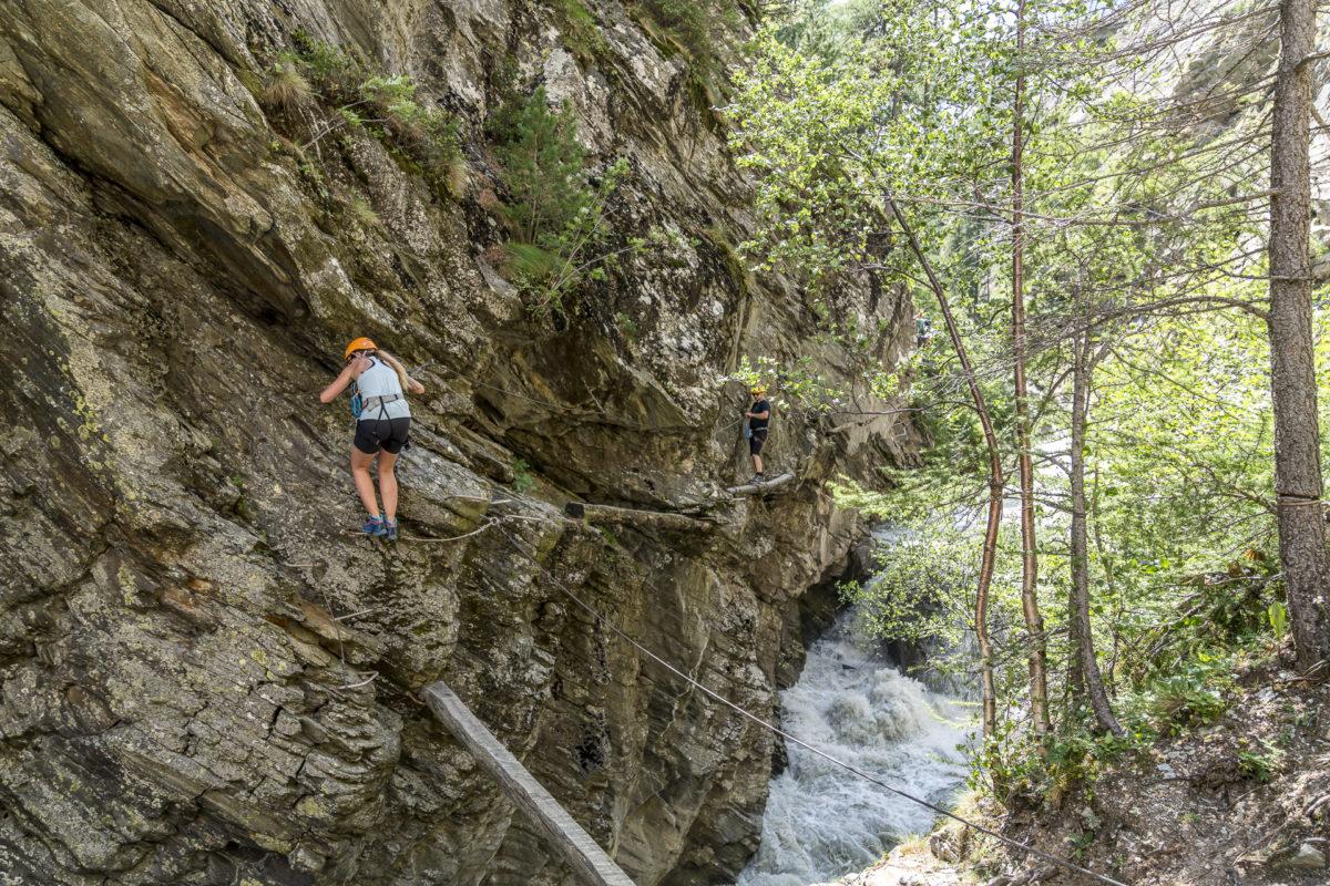 Gorge Alpine Saas-Fee