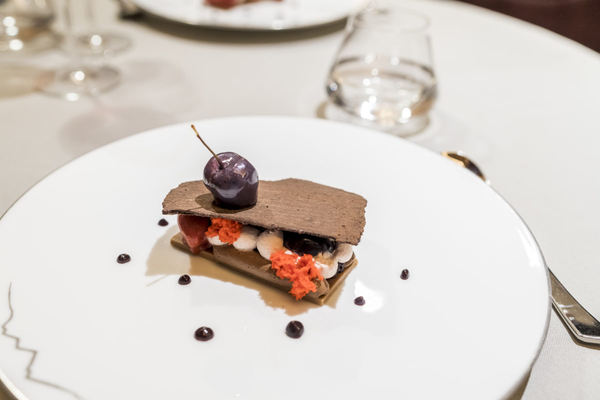 Jardin des Alpes Tasting Menu Dessert