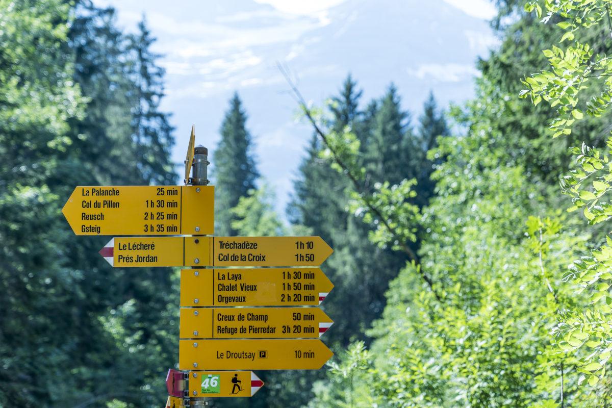 Tour des Alpes Vaudoise Wanderung