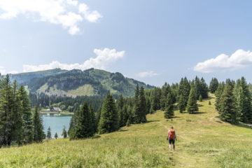 Tour des Alpes Vaudoises deluxe: über den Col de la Croix ins Chalet RoyAlp