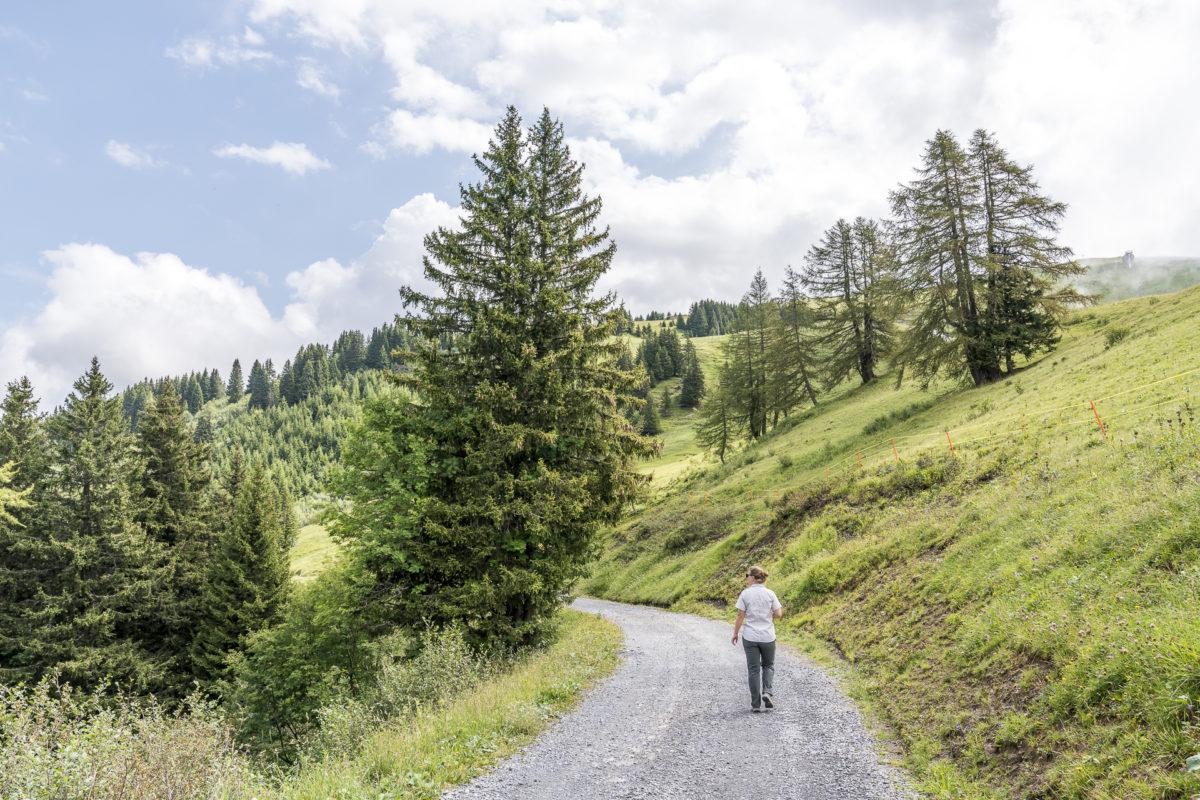 Villars Wandern